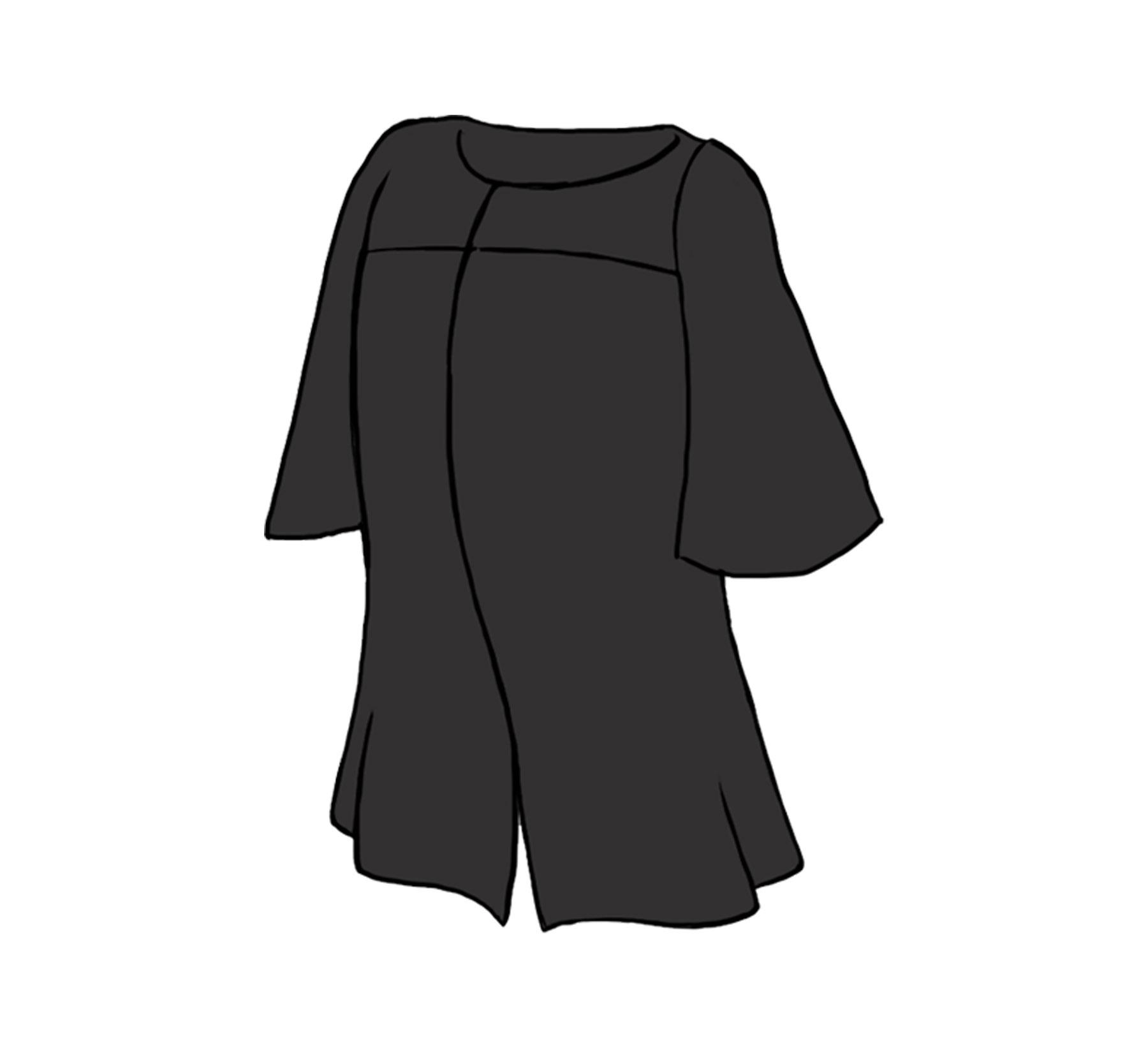Graduation Gown - Mascots