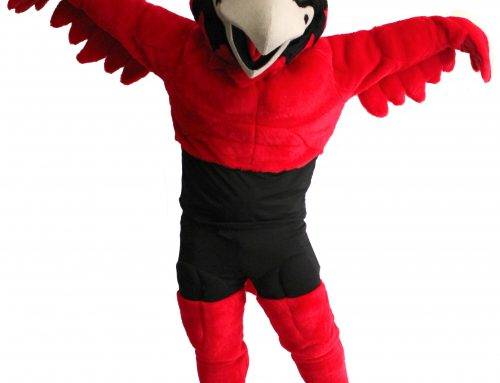 February 2019: Southeast Missouri State University – Rowdy the Redhawk