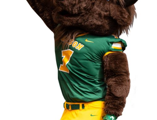 October 2019: North Dakota State University – Thundar the Bison